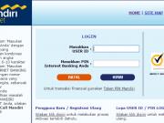 informasi internet banking mandiri